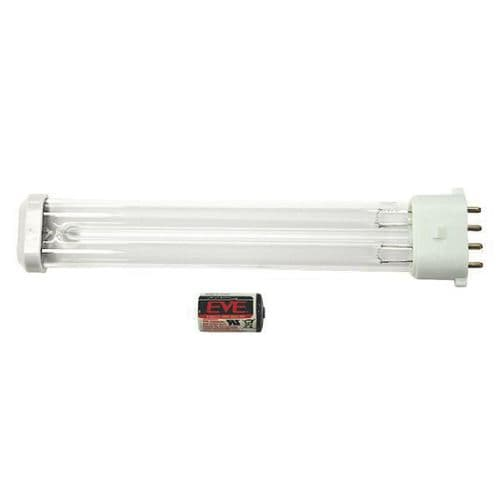 FP025 HyGenikx System Shatterproof Replacement Lamp and Battery Brown Cap HGX-25-O